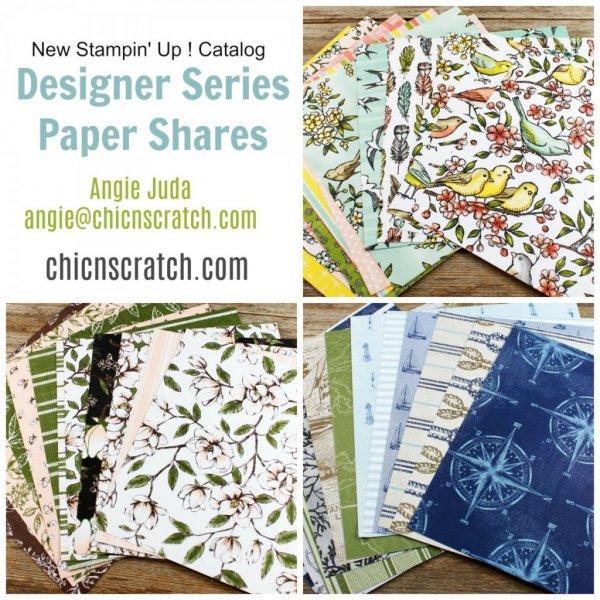 Designer Series Paper Shares 2019 - Chic n Scratch
