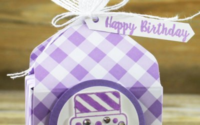 Piece of Cake Envelope Punch Board Box