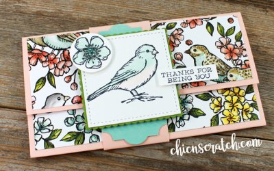Super Easy Gift Card Holder