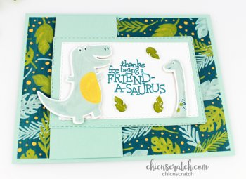 Dino Days Flap Card