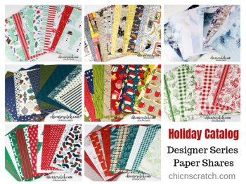 Holiday Catalog Designer Series Paper Shares 2019