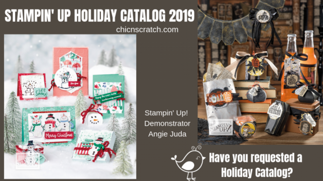 Stampin' Up! Holiday Catalog 2019 Unboxing - Chic n Scratch