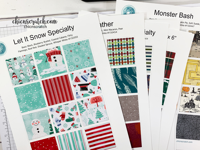 Designer Series Paper Charts - Archives - Chic n Scratch