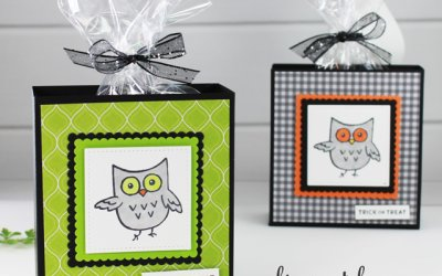 Halloween Box Featuring Hoot Hoot Hooray