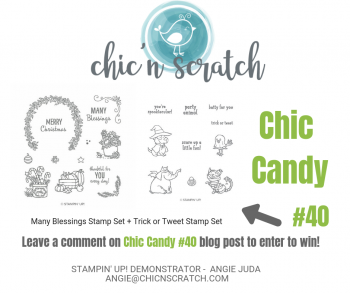 Chic Candy 40 + Facebook Live