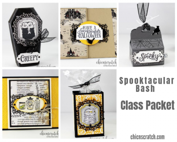 Spooktacular Bash Class Packet