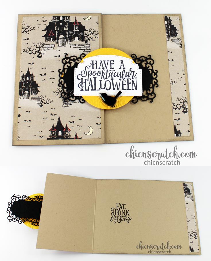 Spooktacular Bash Fun Fold Card