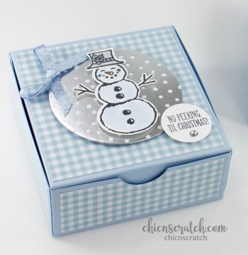 Snowman Season Holiday Box