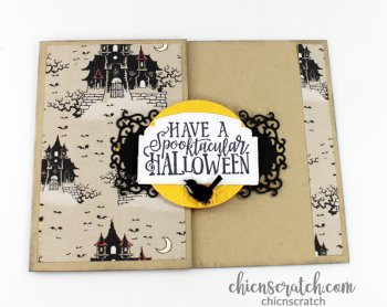 Spooktacular Bash Fun Fold Card