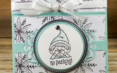 Elfie Gift Card Holder