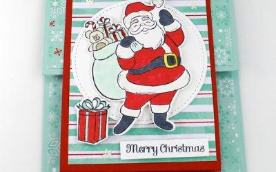 Holly Jolly Double Z Christmas Card