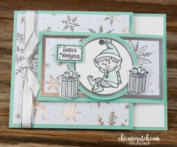 Elfie Fun Fold Card