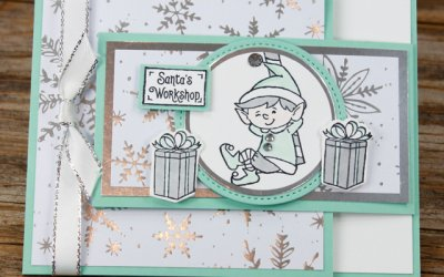 Elfie Fun Fold Card