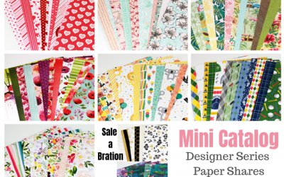 Mini Catalog Designer Series Paper Shares