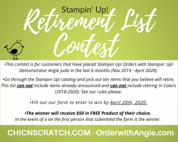 Retirement List Contest