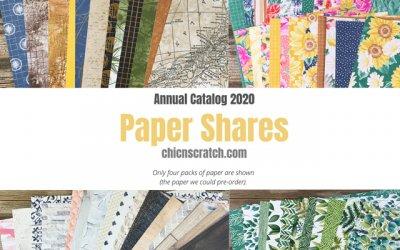 Designer Series Paper Shares
